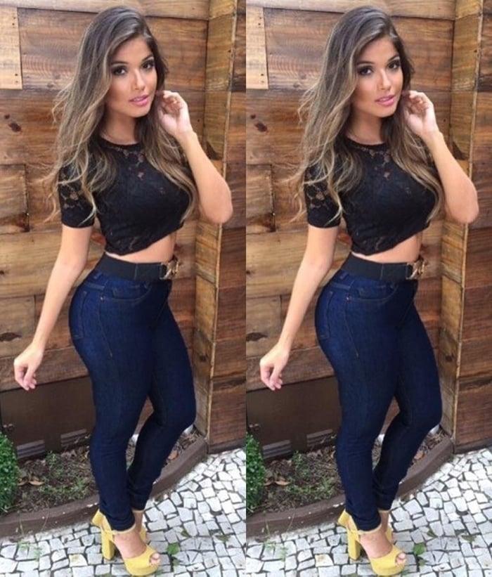 calça jeans cintura alta para revenda