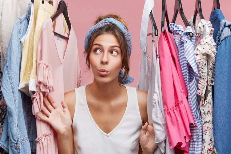 roupas para loja de dez Reais