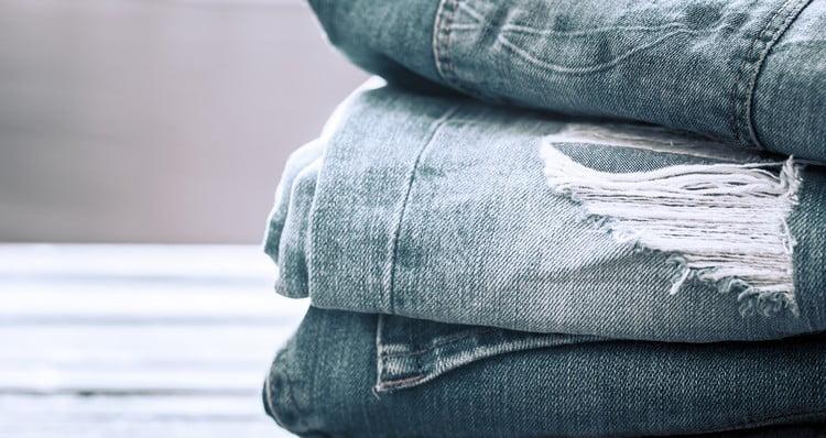 calças jeans para revenda