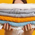 como higienizar roupas para vender