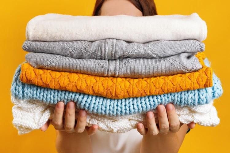 higienizar roupas para vender